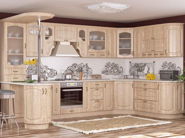 Кухня модульна Паула Мебель Сервіс 342mz купити з доставкою по Україні