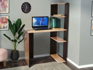 Стол компьютерный с открытыми полками СК-6 МИКС-мебель