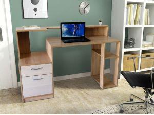 Стол компьютерный с надставкой СК-11 МИКС-мебель