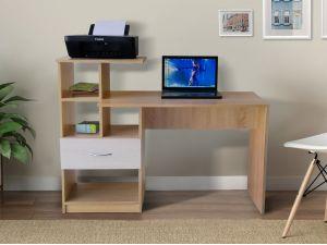 Стол компьютерный с ящиком и открытыми полками СК-20 МИКС-мебель