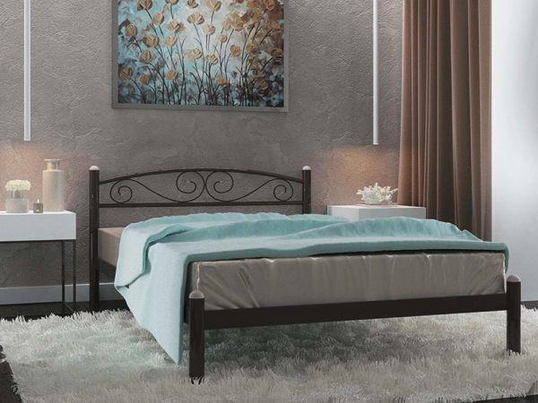 Кровать металлическая Вероника Металл-Дизайн 3596mz купить с доставкой по Украине