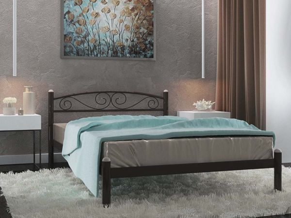 Ліжко металеве Вероніка Металл-Дизайн 3596mz купити з доставкою по Україні