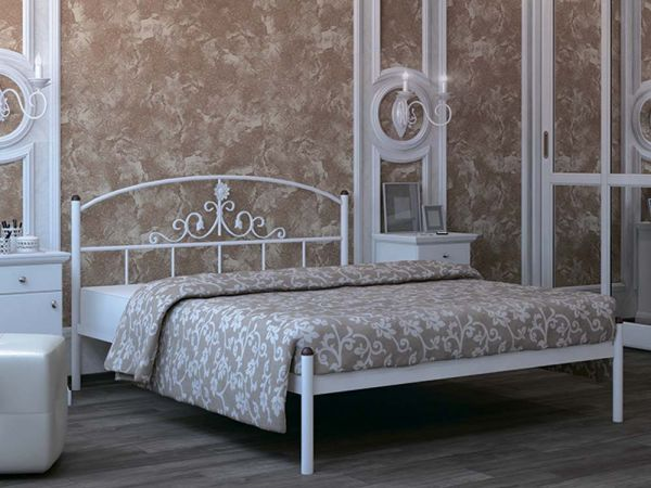 Ліжко металеве Кассандра Металл-Дизайн 3597mz купити з доставкою по Україні