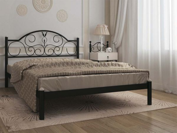 Кровать металлические Анжелика Металл-Дизайн 3599mz купить с доставкой по Украине