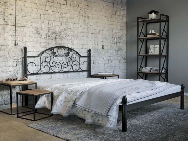 Ліжко металеве Франческа Металл-Дизайн