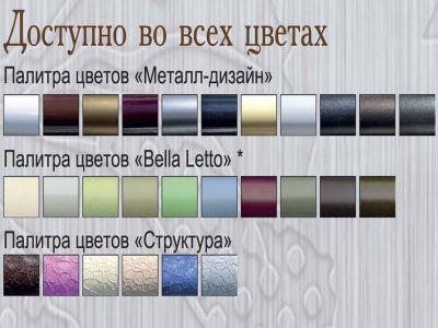 Кровать металлическая Франческа Металл Дизайн