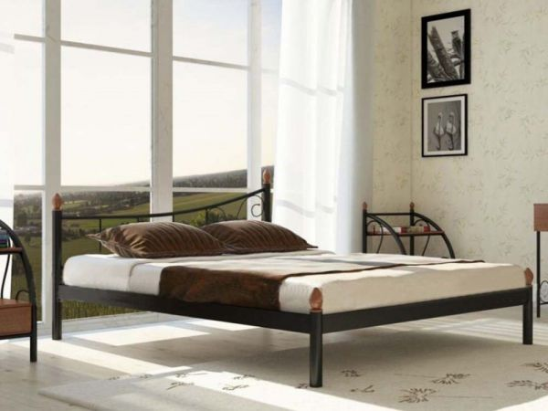Ліжко металеве Каліпсо Металл-Дизайн 3602mz купити з доставкою по Україні