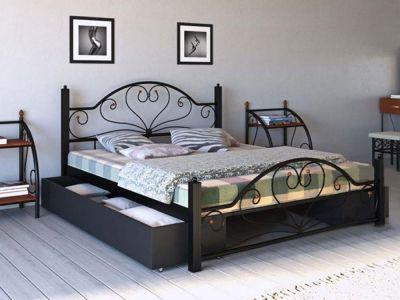 Кровать металлическая Джоконда Металл Дизайн