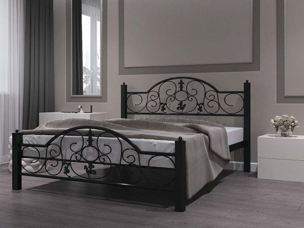 Ліжко металеве Жозефіна Металл-Дизайн