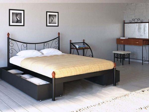 Кровать металлическая Калипсо-2 Металл-Дизайн 4287mz купить с доставкой по Украине