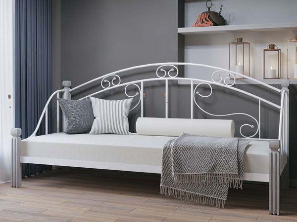 Ліжко односпальне металеве Орфей Металл- Дизайн 4290mz купити з доставкою по Україні