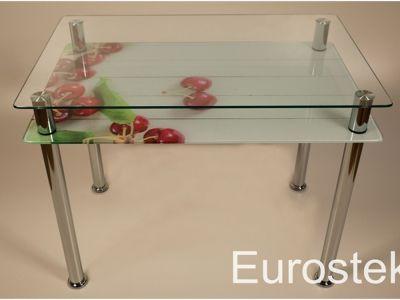 Стол кухонный со стеклянной столешницей DX-822