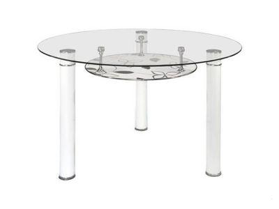 Стол кухонный со стеклянной столешницей D-6810
