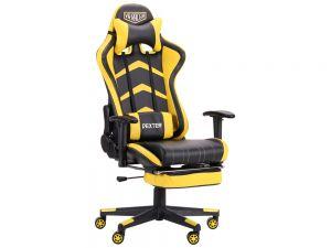 Крісло геймерське з регульованими підлокітниками VR Racer Dexter Megatron AMF
