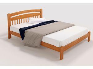 Ліжко дерев'яне Ретро Люкс 2 ТеМП-Мебель 7495mz купити з доставкою по Україні