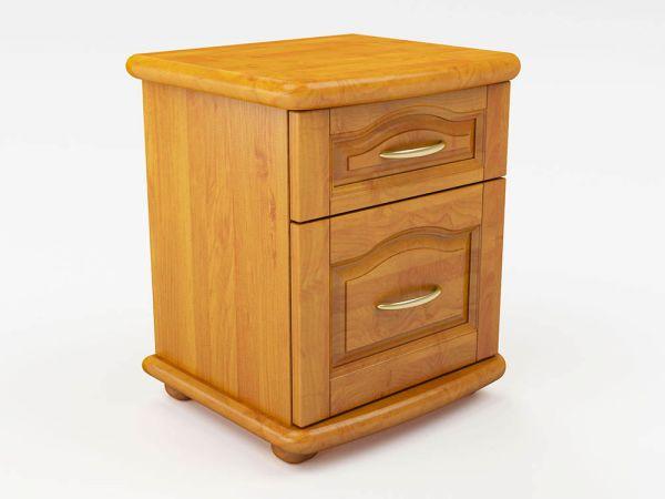 Тумба прикроватная деревянная Т1 ТеМП-Мебель 2532mz купить с доставкой по Украине