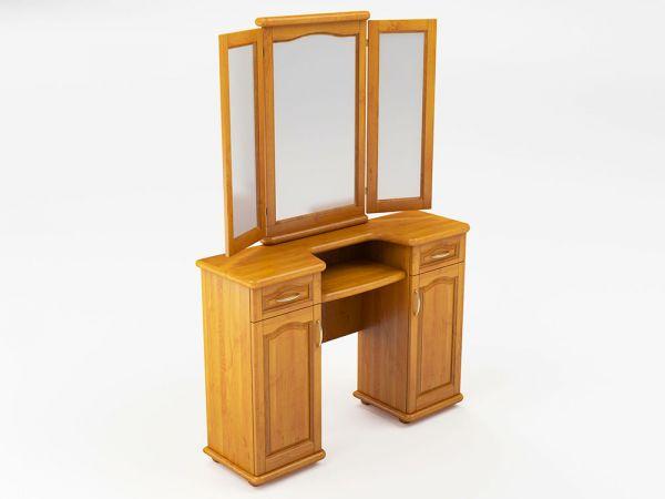Трюмо двухтумбовое с зеркалом ТеМП-Мебель 4054mz купить с доставкой по Украине