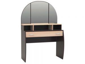 Трюмо 10 с зеркалом и ящиком РТВ-мебель