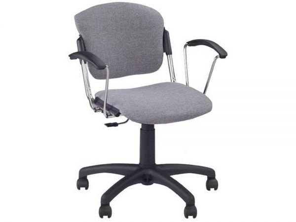 Крісло офісне Ера Хром Lovatto Новий Стиль 1450 купити з доставкою по Україні