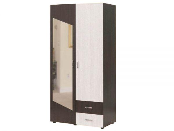 Шкаф двухдверный бельевой Рига Берегиня 3989mz купить с доставкой по Украине