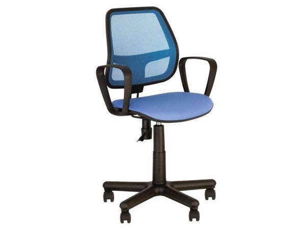 Кресло офисное с ортопедической спинкой Альфа Новый Стиль 1445 купить с доставкой по Украине
