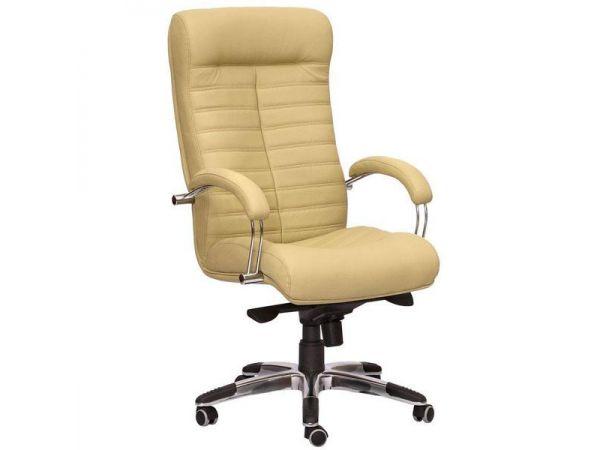 Крісло комп'ютерне з м'якими підлокітниками Оріон AMF 3683 купити з доставкою по Україні