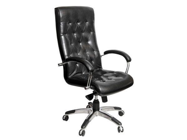 Крісло комп'ютерне ортопедичне з м'якими підлокітниками Брістоль AMF 3686 купити з доставкою по Україні