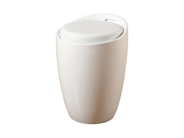 Пуф пластиковый с мягким сиденьем Мари SDM