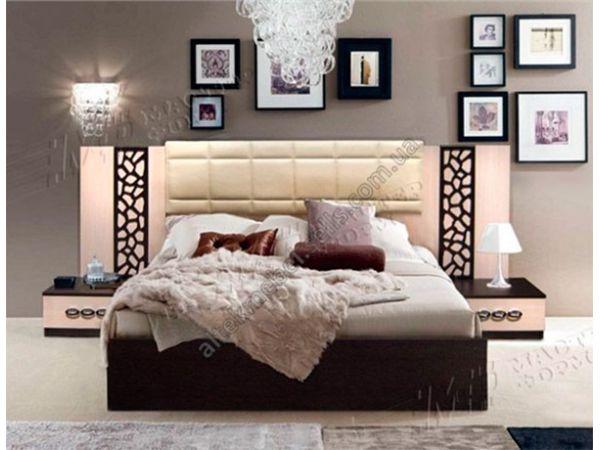 Кровать двуспальная Селеста Мастер Форм с мягким изголовьем 4092mz купить с доставкой по Украине