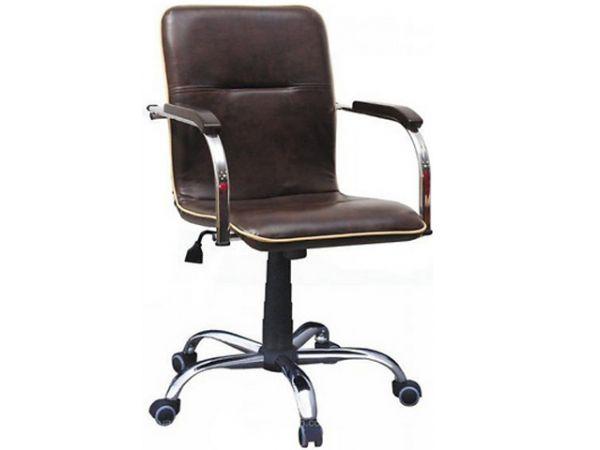 Кресло офисное с деревянными подлокотниками Самба RC AMF 1553 купить с доставкой по Украине