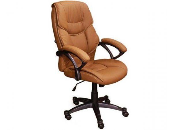 Крісло офісне з м'якими підлокітниками Фоксі HB AMF 1578 купити з доставкою по Україні
