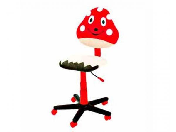 Детское роликовое кресло Мухомор