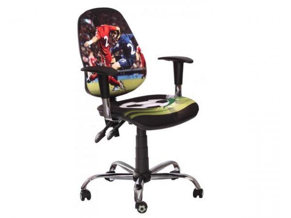 Кресло детское Футбол Люкс AMF 1722 купить с доставкой по Украине