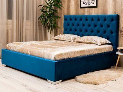 Кровати с мягким изголовьем