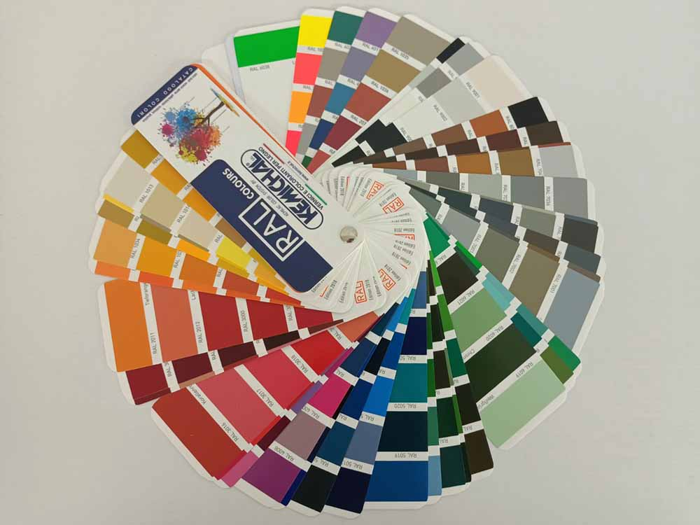 Палитра цветов RAL Classic - фасады из крашенного МДФ